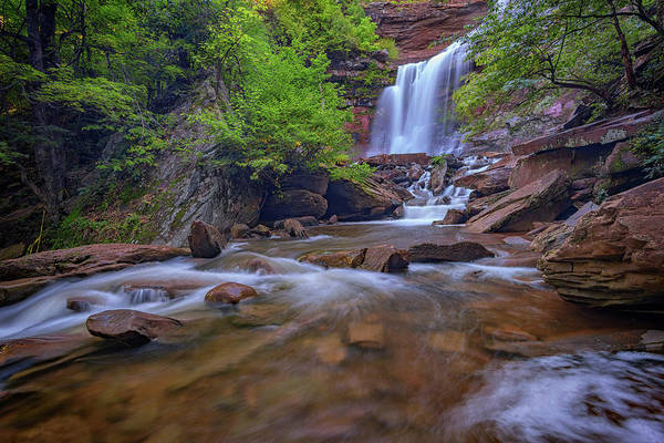 Late Summer At Kaaterskill Falls Poster