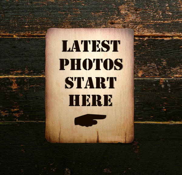 Latest Photos Start Here Poster