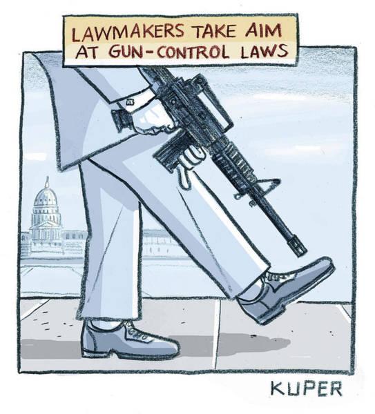 Lawmakers Take Aim At Gun Control Laws Poster