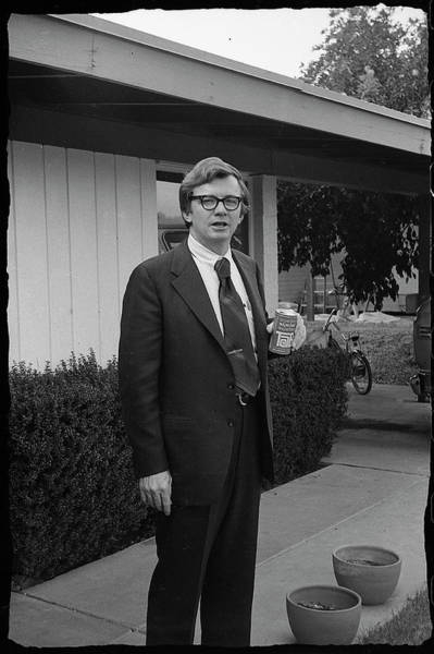 Lawyer With Can Of Tab, 1971 Poster