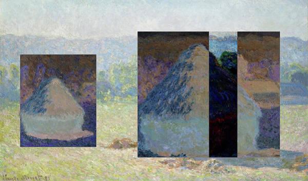 Layered 13 Monet Poster