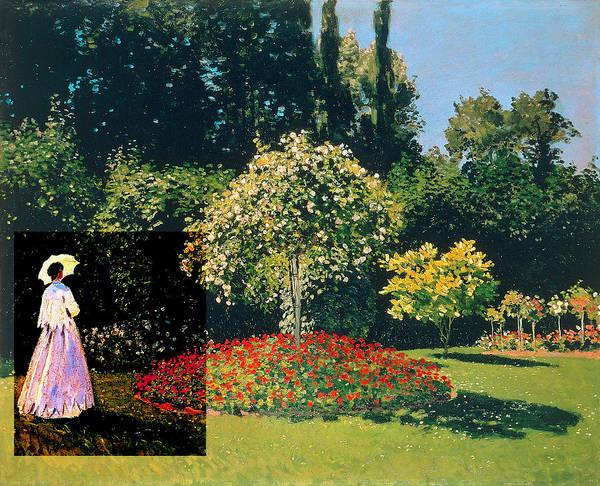 Layered 20 Monet Poster