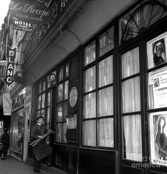 Le Procope Restaurant, Paris, 1962 Poster
