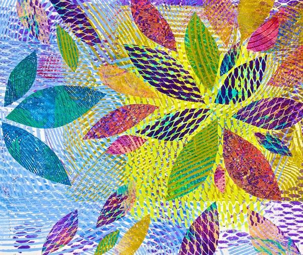 Leaves In Dappled Light Poster