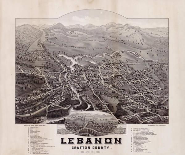 Lebanon, Grafton County, N.h. Poster