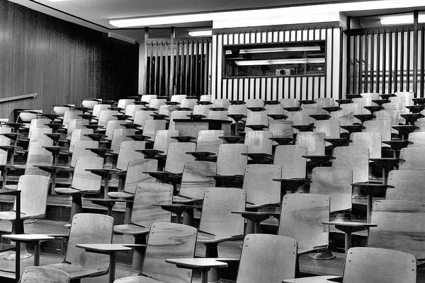 Lecture Hall At Ubc Poster