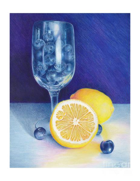 Lemon Blueberry Muffins Poster