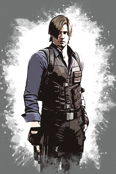 Leon S. Kennedy Poster