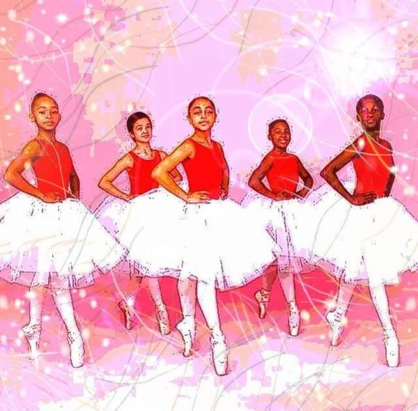 Les Danseurs Noirs Poster