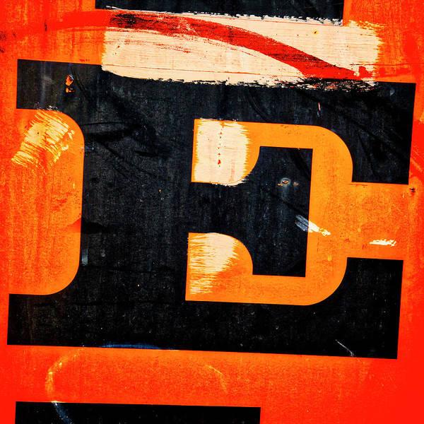 Letter E Poster