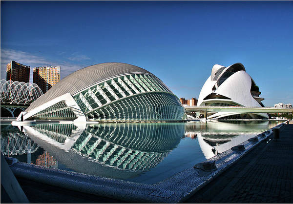 Valencia, Spain - City Of Arts And Sciences Poster