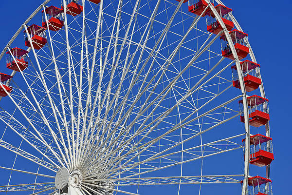 Life Is Like A Ferris Wheel Poster