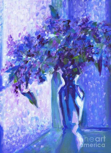 Lilac Rain  Poster