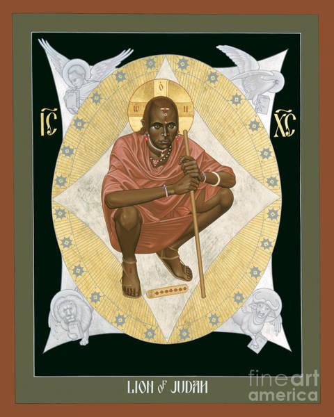 Lion Of Judah - Rlloj Poster