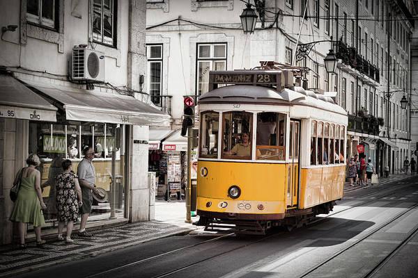 Lisboa Tram I Poster