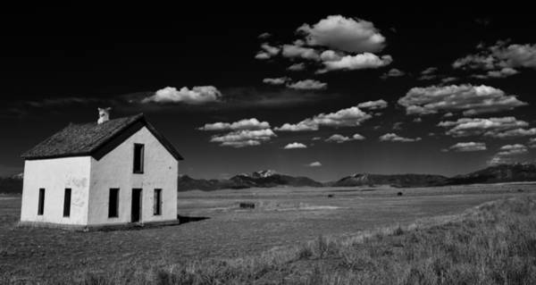 Little Abandoned House On The Prairie Poster