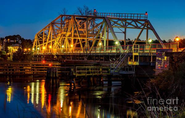 Little River Swing Bridge Poster