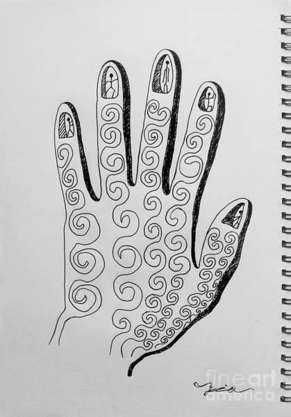 Lives Between The Fingertips Poster