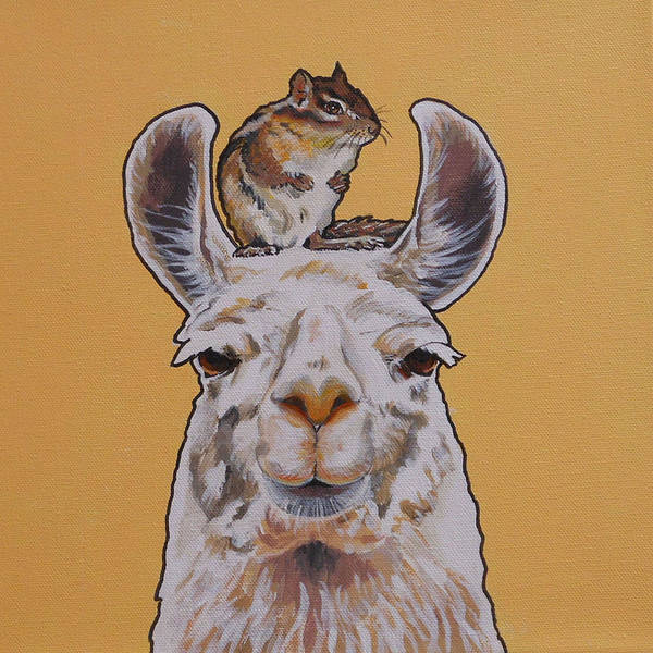 Llois The Llama Poster