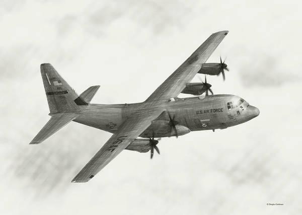 Lockheed C-130j Hercules Poster