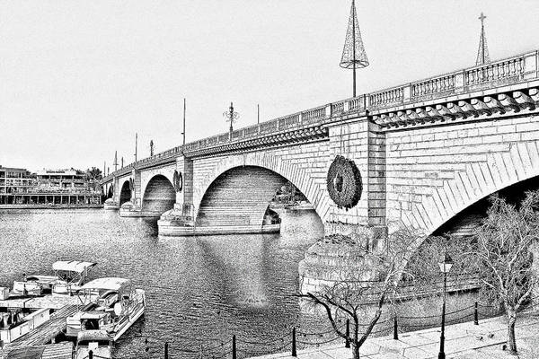 London Bridge Lake Havasu City Arizona Poster