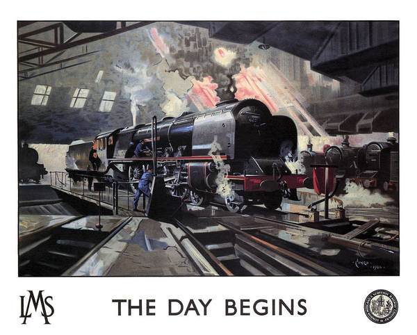London, Midland, And Scottish Railway  1946 Poster