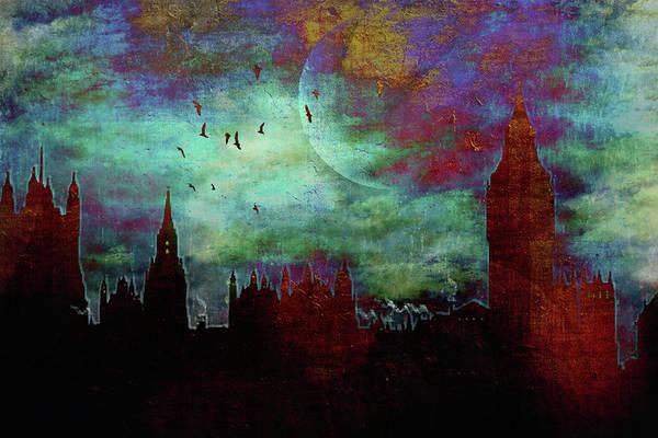 London Skyline II Poster