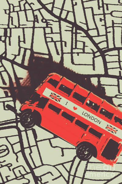 Londoners Travel Run Poster