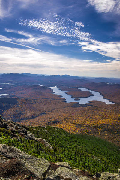 Lookin Down On Lake Placid Poster