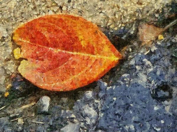 Loose Leaf Poster