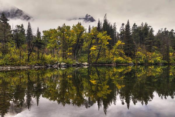 Lost Lake In Glacier Poster