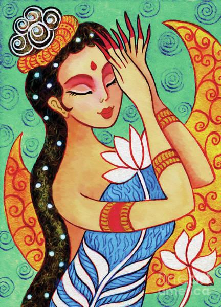 Lotus Meditation Poster