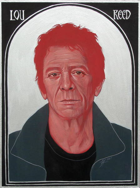 Lou Reed 2 Poster