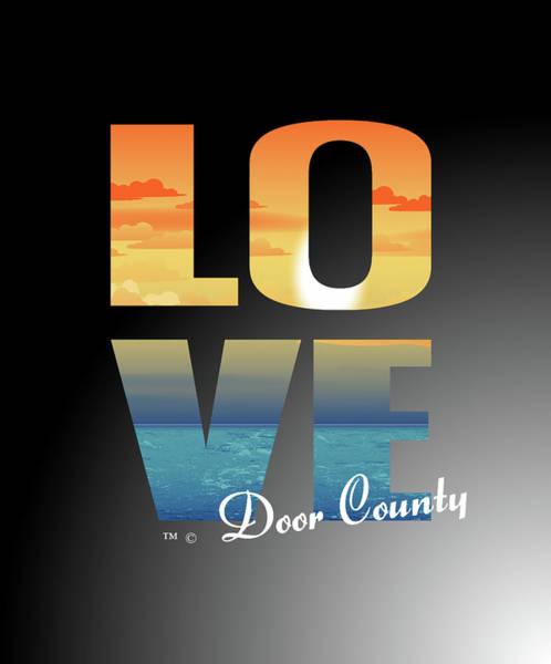 Love Door County Poster