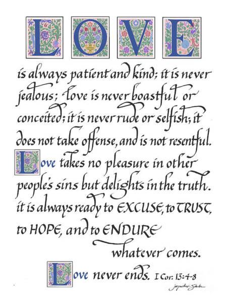 Love Is Always Patient Poster