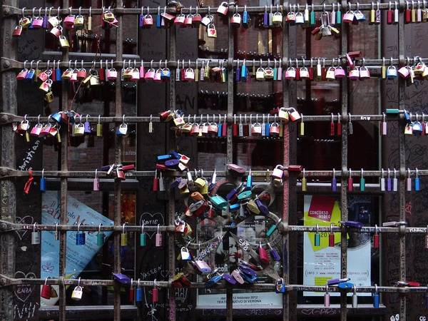Love Locks At Juliet's House Poster