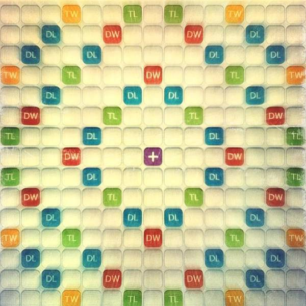Love This Game😊 #scrabble #games Poster