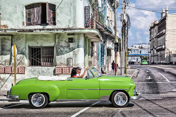 Poster featuring the photograph Lovin' Lime Green Chevy by Gigi Ebert