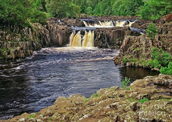 Low Force Waterfall, Teesdale, North Pennines Poster