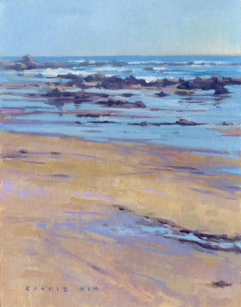Poster featuring the painting Low Tide  by Konnie Kim