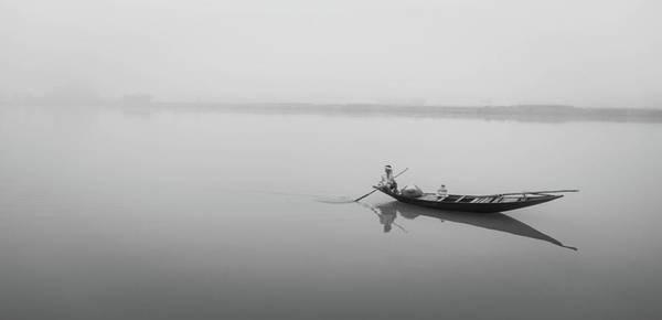 Lower Ganges - Misty Morinings Poster