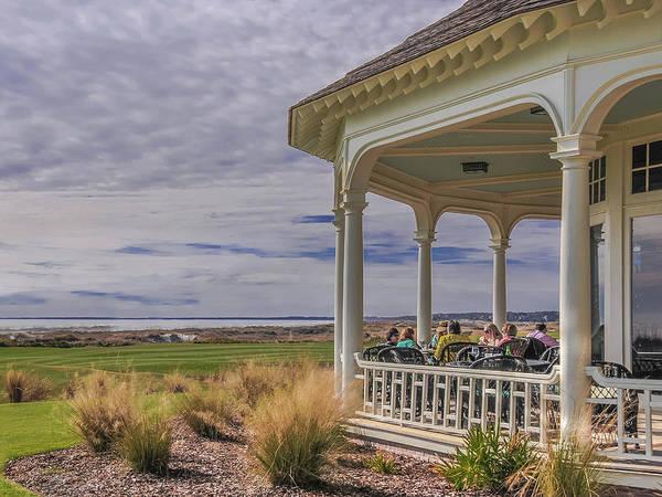 View From The Veranda - Ocean Course Golf, Kiawah Island Poster