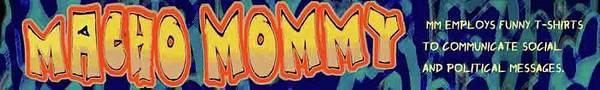 Macho Mommy Logo Poster