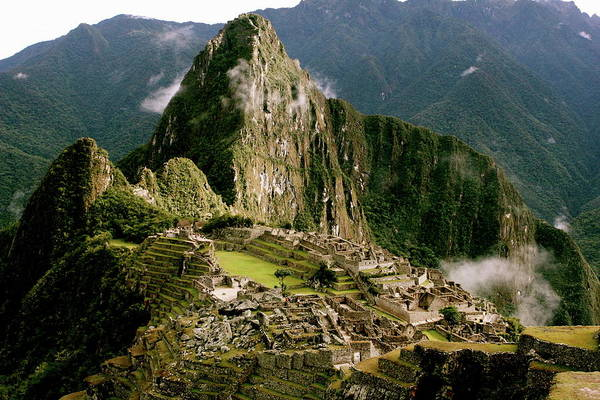 Machu Picchu At Sunrise Poster