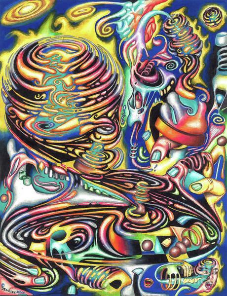 Macrocosmic Creation Of A Splendid Puzzle Poster