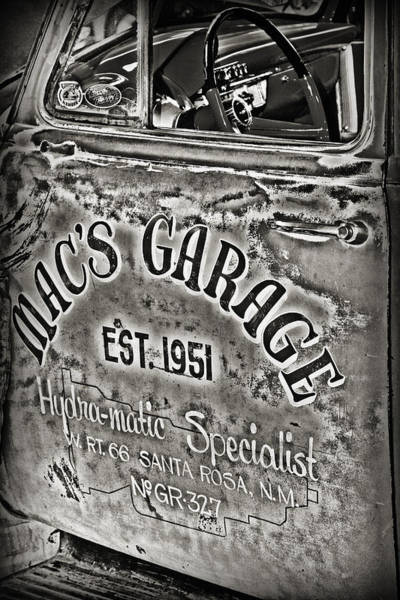 Macs Garage Poster