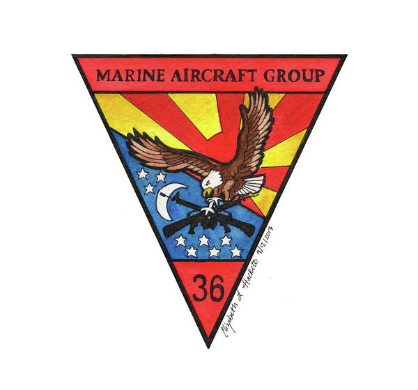 Mag-36 Patch Poster