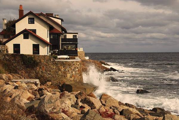 Poster featuring the photograph Magnolia Beach by AnnaJanessa PhotoArt