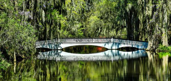 Magnolia Plantation Bridge - Charleston Sc Poster