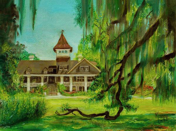 Magnolia Plantation Poster